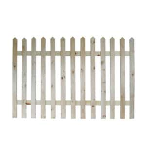 S.A PINE PICKET FENCE