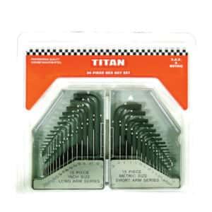 Titan 30pc Allen Key Set