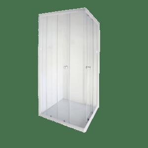 AQUA LUX CORNER-ENTRY SHOWER DOOR