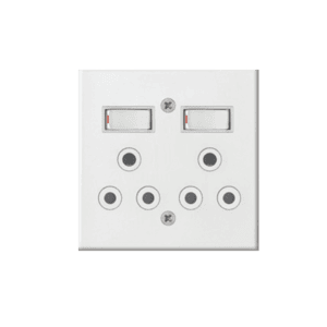 ACDC DOUBLE SOCKET OUTLET
