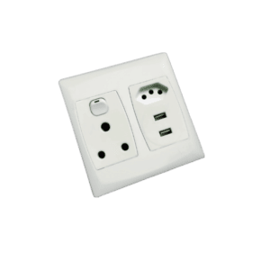 MES MULTI-SOCKET WITH USB OUTLET