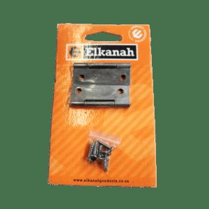 ELKANAH HINGE BUTT STL.50MM+SCREWS