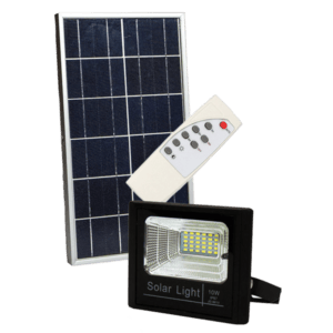 Solar First 10W LED Solar Floodlight with Built-in Day/Night Sensor + Remote