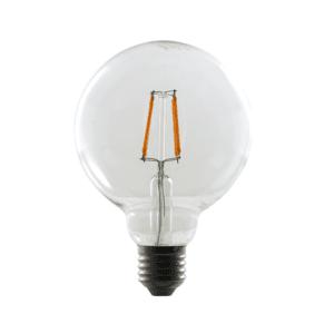 BULB 4W LED FILAMENT ES G95 OPALINA