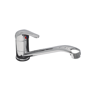 SEAGA SERIES 2000 SINK MIXER DECK MOUNT WITH LONG CAST SPOUT