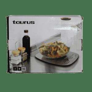 TAURUS KITCHEN SCALE S/STEEL 5KG