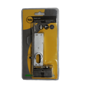 YALE SECURITY GATE HOOK LOCK WITH CYL.