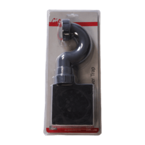 GIO SHOWER TRAP SQUARE MATT BLACK