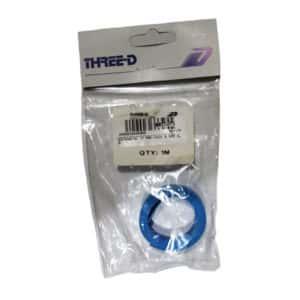 HEATSHRINK PRE-PACK BLUE 9.5MM X 1M