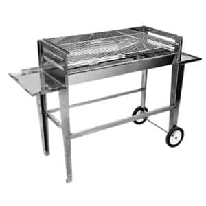 TECHNI PUNCH PORTABLE BRAAI STAINLESS STEEL 900MM