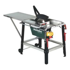 METABO TABLE SAW WITH LEGS 3100W