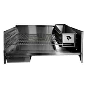 TECHNI PUNCH TABLE TOP BRAAI STAINLESS STEEL 1M