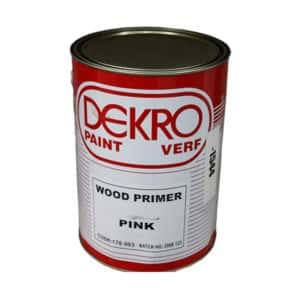 DEKRO PINK WOOD PRIMER 5LT