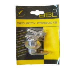 BBL CYLINDER CAMLOCK 27MM CHROME PLATED