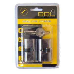 BBL CYLINDER OVAL SMALL NICKEL PLATED 54MM
