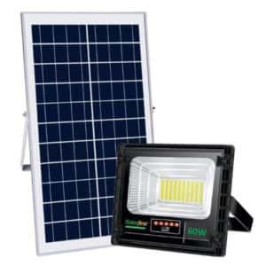 SOLAR 60W FLOODLIGHT LED DAY/NIGHT+REMOTE