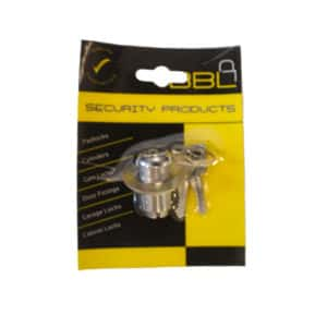 BBL CYLINDER EMERGENCY CAMLOCK 27MM CHROME PLATED