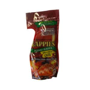 LAPPIES BRAAI SAUCE HINT OF CHILLI DOY PACK 200ML