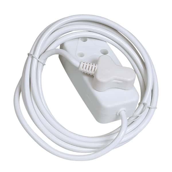 17575-Selectrix-White-Extension-Lead