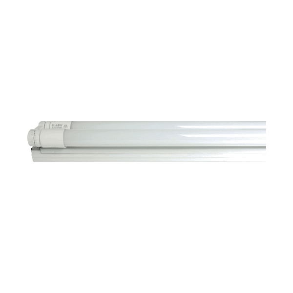 FLASH WIRED LED DOUBLE FITTING INCLUDING LED TUBES