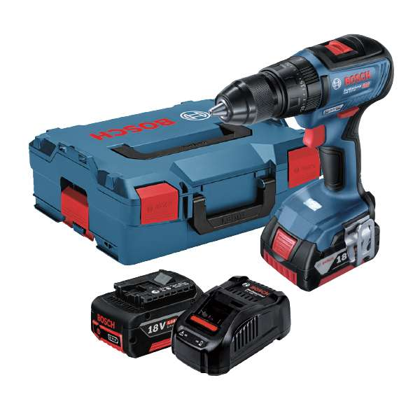 11124-Bosch-Brushless-Cordless-18V-Li-ion-Impact-Drill-with-2-x-5Ah-Batteries