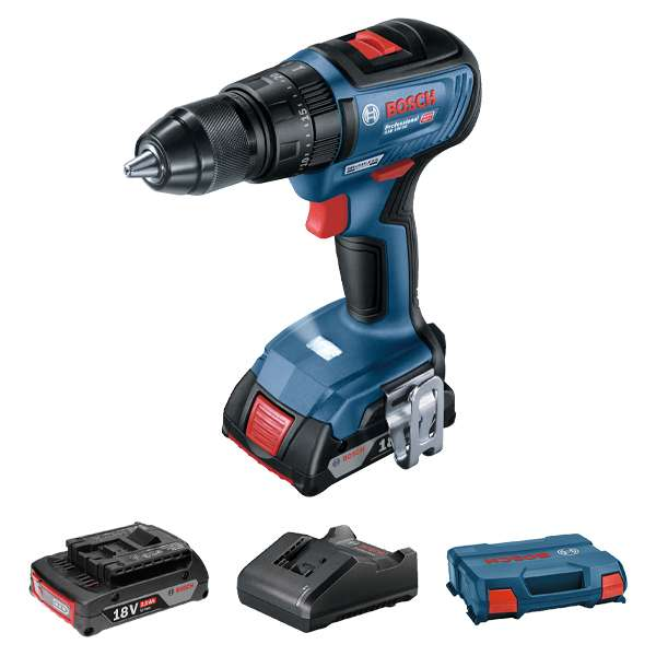 75926-Bosch-Brushless-Cordless-18V-Li-ion-Impact-Drill-with-2x2Ah-Batteries