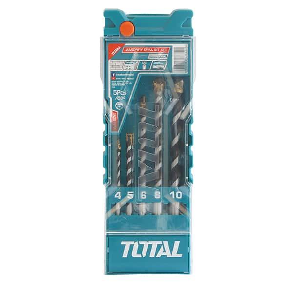 75205-Total-5pc-Masonry-Drill-Bit-Set