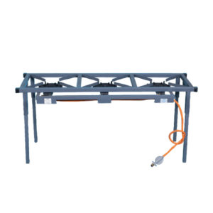 CAST IRON BOILING TABLE 3-BURNER