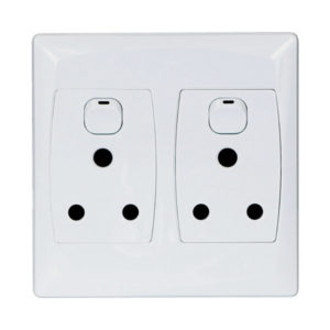 M.E.S DOUBLE SOCKET OUTLET