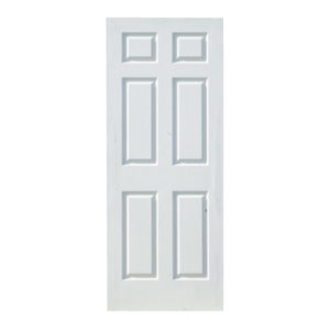 DEEP-MOULDED INTERRIOR DOORS- 6 PANEL COLONIST