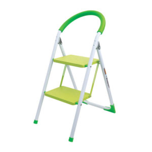 LADDER-2 STEP COLOUR  WITH CURVED HANDLE