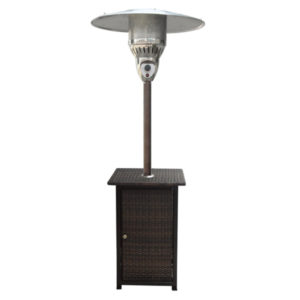 GAS PATIO HEATER WICKER TYPE