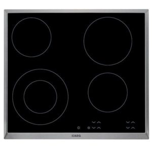 AEG ELECTRIC CERAMIC HOB 60 cm