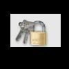 65351_BBL Brass Padlock 40mm