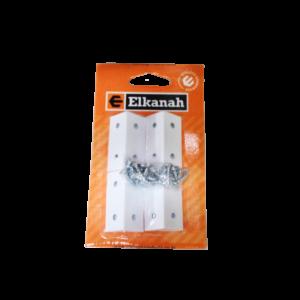 ELKANAH CORNER BLOCKS PLASTIC WHITE (4)