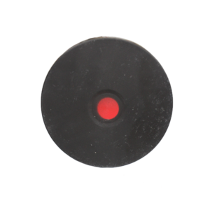 "SOLID PLATE 6""(C/TRIM) RED DOT"
