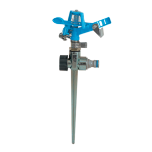 AquaCraft Metal Impulse Sprinkler with Spike