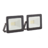 EUROLUX 10W LED FLOODLIGHT TWIN PACK