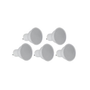 ACDC DICHROIC 3W NON-DIMMABLE LED 5-PACK