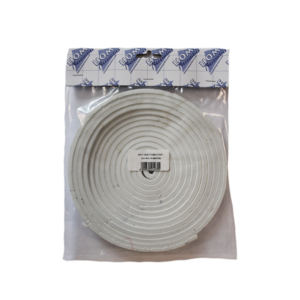 ADHESIVE FOAM STRIP 6MM X 10MM X 5M WHITE