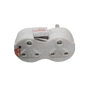 ADAPTOR 2 X 16A SURGE PROTECTED