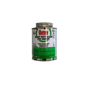 OATEY PVC CEMENT HEAVY DUTY CLEAR 237ML