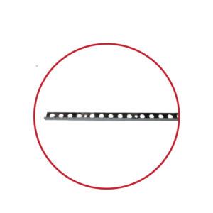 TILE EDGE STRAIGHT EDGE STAINLESS STEEL 10MM X 2.5M