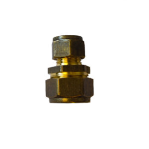 COMPRESSION COUPLER CXC REDUCING 10MM X 15MM