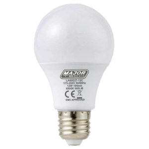 BULB 12W ES COOL WHITE MAJOR TECH