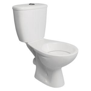 SPLASH NEON CLOSE COUPLE TOILET SEAT