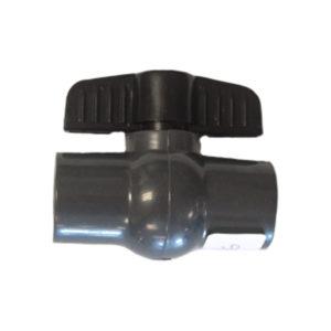 PVC BALL VALVE COMPACT 20MM