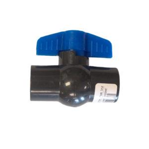 PVC BALL VALVE COMPACT 25MM