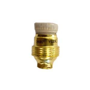 ACDC BRASS LAMP HOLDER SES 10MM