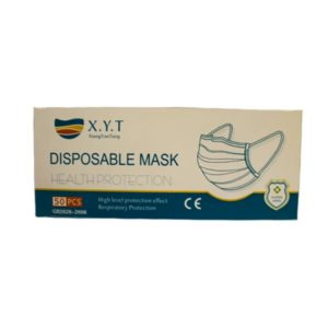 FACE MASK 3-PLY DISPOSABLE (50)